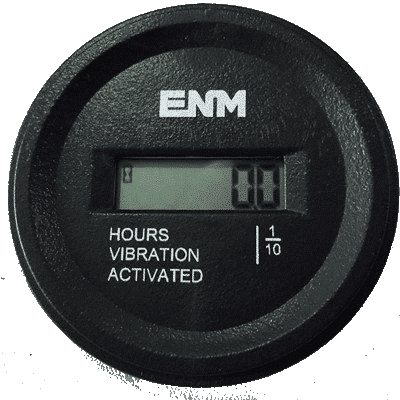 VIBRATION ACTIVATED, WATERPROOF, 2.22 IN ROUND, 8 YEAR BATTERY