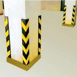 Rubber Corner MS Column Guard