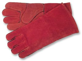 Welding Gloves Red Leather/ Pair