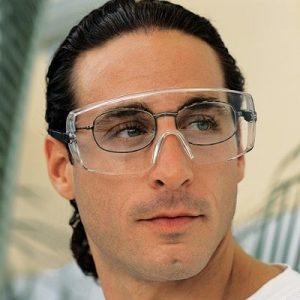 Over-the-Glass Safety Glasses OTG Clear Lens