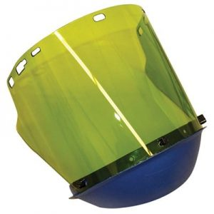 Face Shield Bracket Electrical Arc Protection with Face Shield Visor