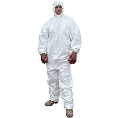 JSP OL type/6 Suit XL/6 Disposable Coverall, X-Large