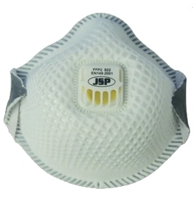JSP 822 Flexinet Valved Disposable Mask – FFP2