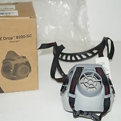 A0Safety EZ DROP 1/2 MASK 8200-SC RESPIRATOR
