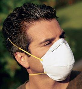 7210 N95 Disposable Respirator, 20/Pack
