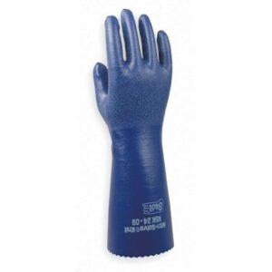 Showa Best Solvent Resistant Gloves, Size Medium, 14″ Long