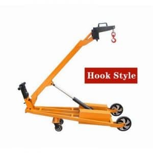 Portable Folding Boom Loading and Unloading Truck